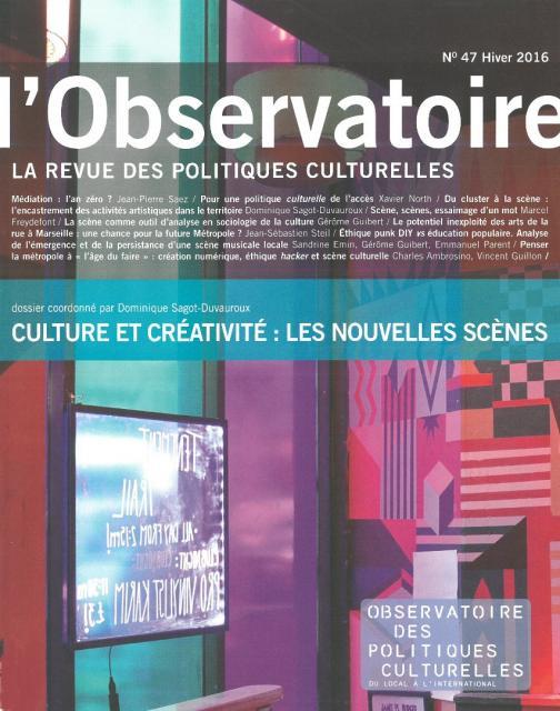 Observatoire des politiques culturelles 47