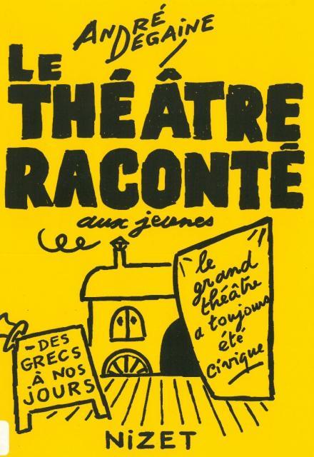 Le théâtre raconté aux jeunes