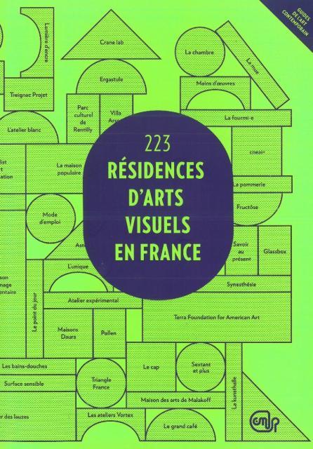 223 résidences d'arts visuels en France