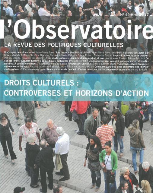 Observatoire des politiques culturelles 49