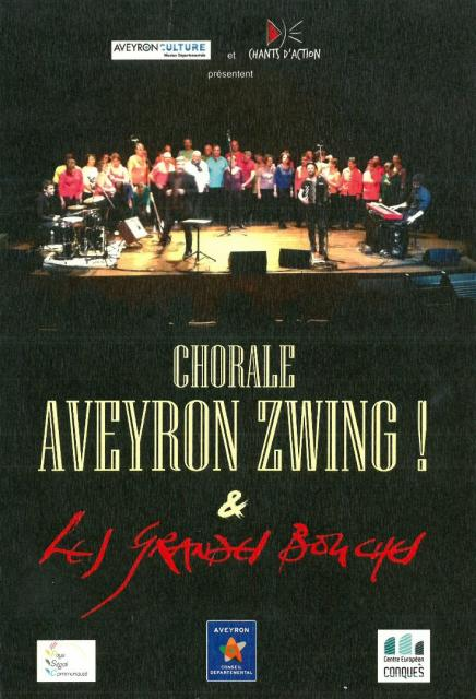 Chorale Aveyron Zwing, chorale collèges et les Grandes Bouches