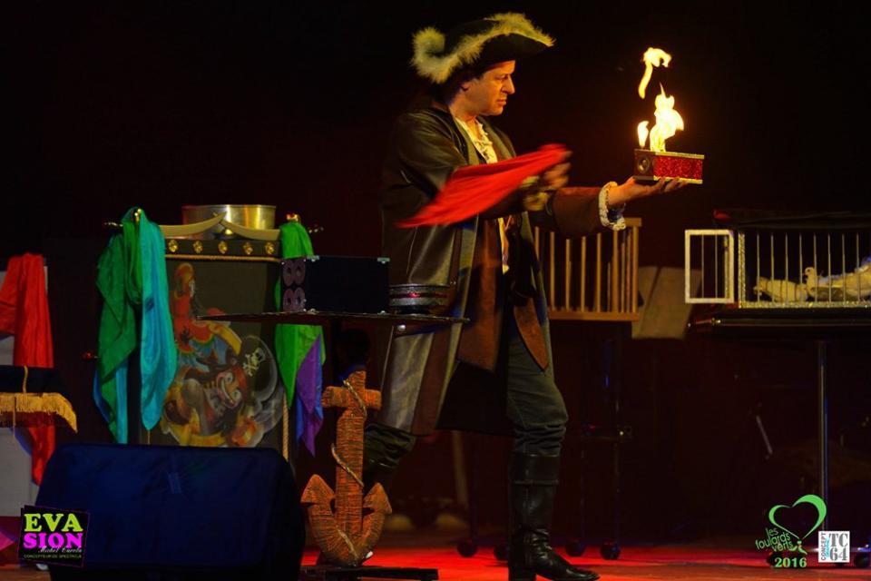 Les pirates magiciens