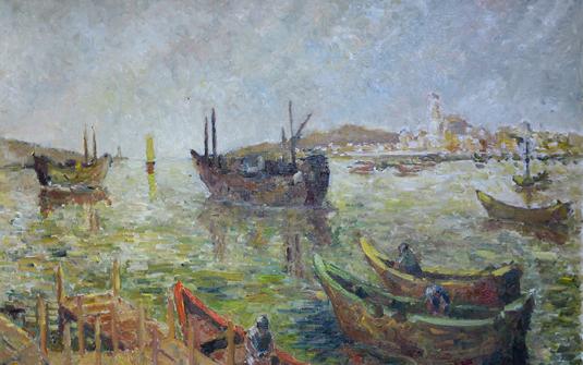 Regards, huiles et aquarelles de Rodolphe Bonnet