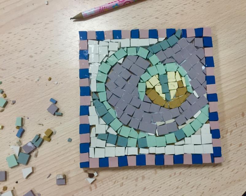 Atelier mosaïque