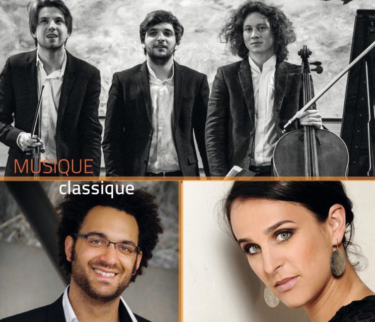 Trio Messiaen, Juan Miguel Hernandez, Marion Tassou