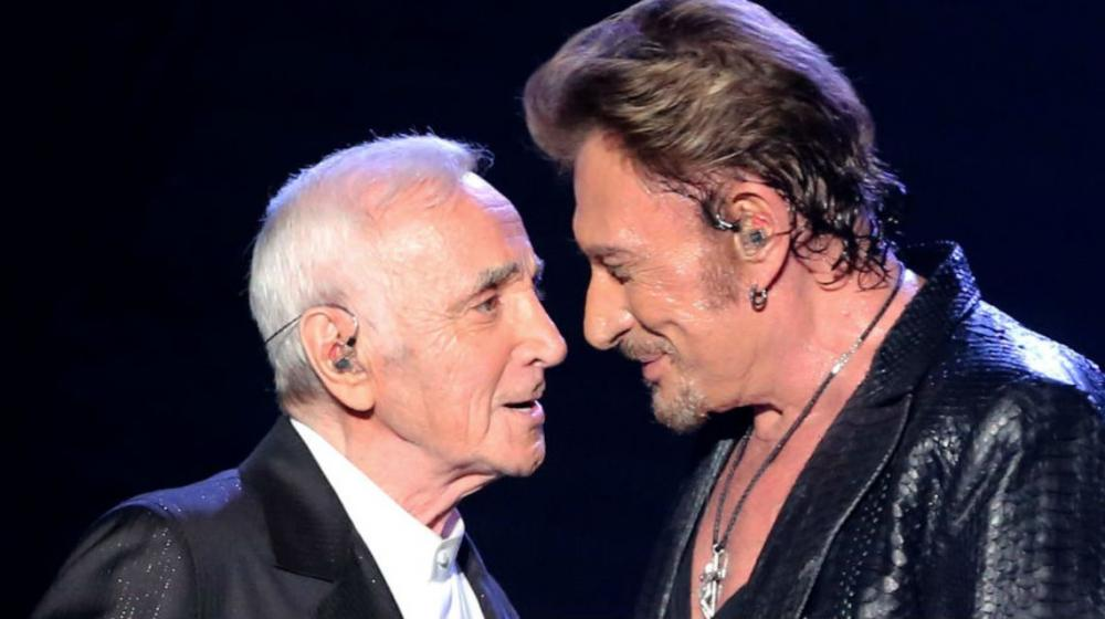 Stage choral Charles Aznavour - Johnny Halliday