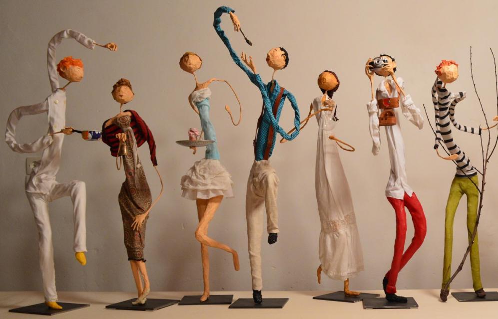 Sculptures aériennes