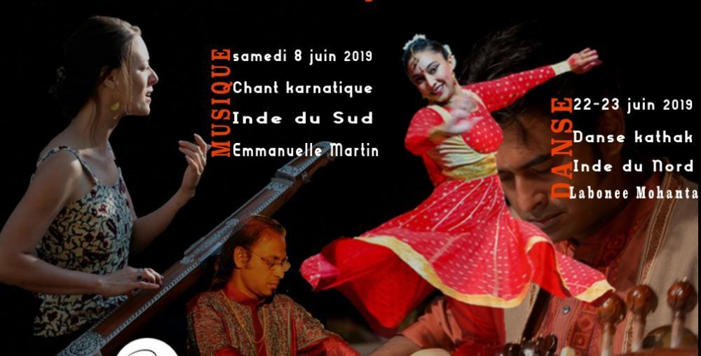 Stage de danse kathak