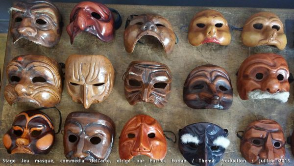Stage de masques