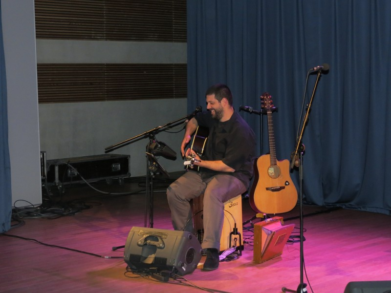 Visite au fil du temps et Arnaud Cance en concert