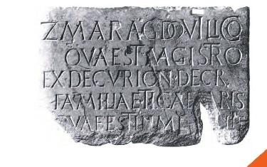 Les traces des romains à La Bastide l'Evêque