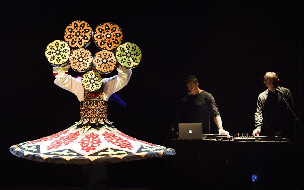 Stage interculturel musique, chant et danse rencontre Moyen-Orient et Occident