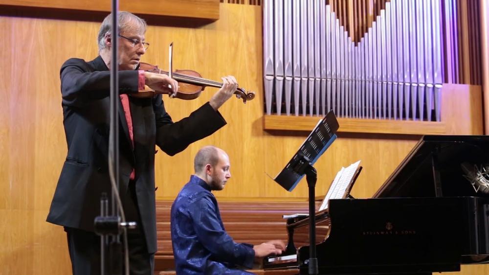 Concert de piano et violon