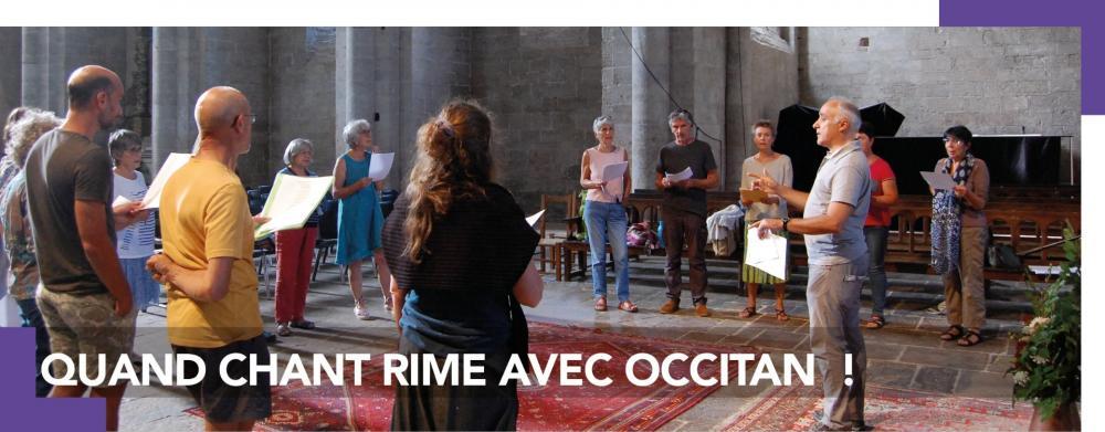 Quand chant rime avec occitan !